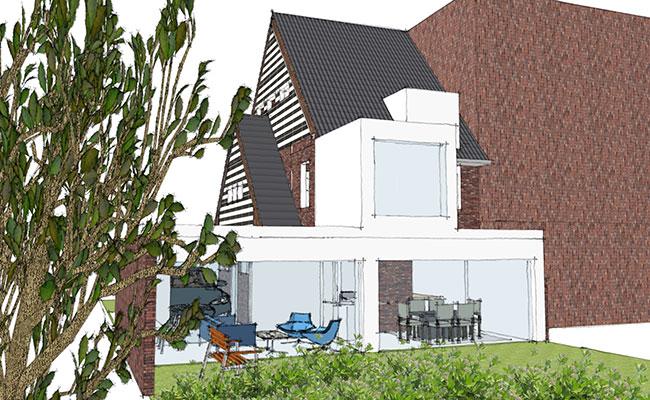 Cecilia Kollross verzorgt bij renovaties ook structurele berekeningen of bouwvergunningen.