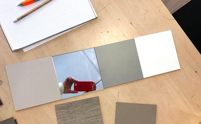 Cecilia Kollross werkt graag met mooie, duurzame materialen en aansprekende kleurpaletten.