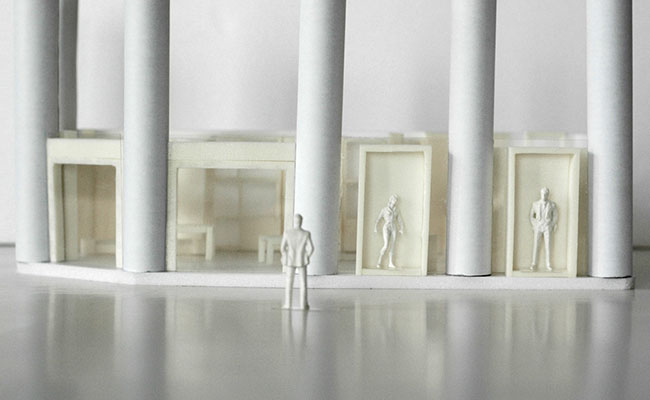 De maquettes van Cecilia Kollross geven een prima, eerste indruk van het eindresultaat.