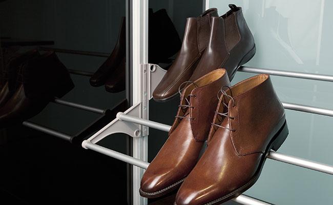 Uw schoenenkast. Zó mooi en zó overzichtelijk dat u uw schoenen niet meer aan wilt.