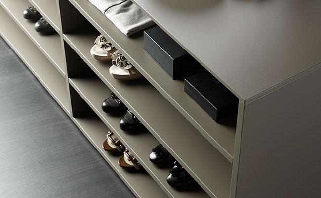 De schoenenkasten van theCabinetshop, topinterieur voor maatwerkkasten.