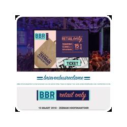 Daarnaast ben ik betrokken bij het kennisnetwerk voor de reclamefolder BBR, dat onder andere jaarlijks het BBR Congres organiseert.