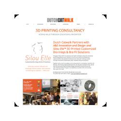 Daarnaast ben ik betrokken bij A&E Innovation & Design BV en Silou Elle, een onderneming die zich bezighoudt met de ontwikkeling van 3D technologie ten behoeve van extern borstprotheses.