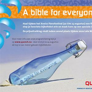 HSTotaal ontwerpt kleurige advertising voor het Bijbelgenootschap