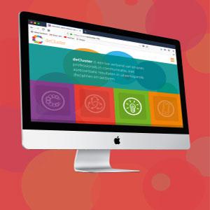HSTotaal ontwikkelt een professionele website voor deCluster
