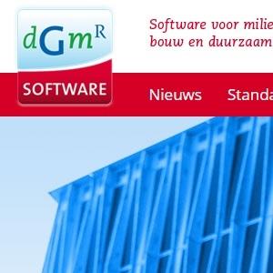 HSTotaal revitaliseert het logo van DGMR Software