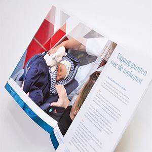 HSTotaal ontwerpt brochures voor Diaconessenhuis Leiden