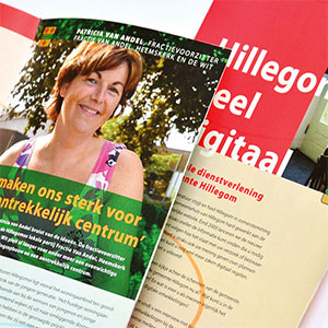 HSTotaal ontwikkelt brochures voor de gemeente Hillegom
