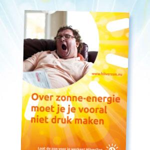 HSTotaal ontwikkelt campagne concepten voor HilverZon, Hilversum