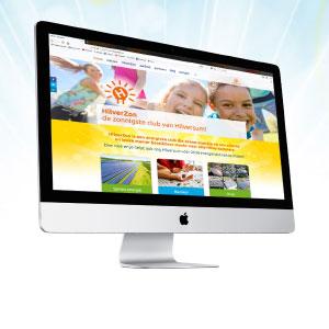 HSTotaal ontwerpt een energieke website voor HilverZon, Hilversum