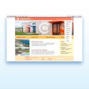 HSTotaal bouwt websites met mooie templates, bijvoorbeeld 'Cosy'