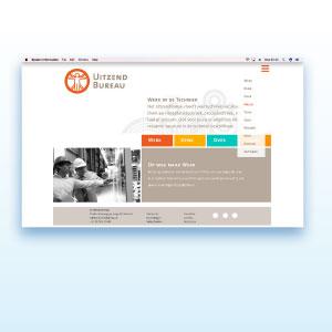 HSTotaal bouwt websites met mooie templates, bijvoorbeeld: 'Job'