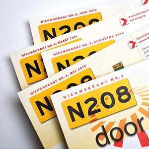 HSTotaal ontwikkelt themahuisstijl voor publiekscommunicatie N208
