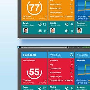 HSTotaal ontwerpt beeldscherminformatie voor Unexus