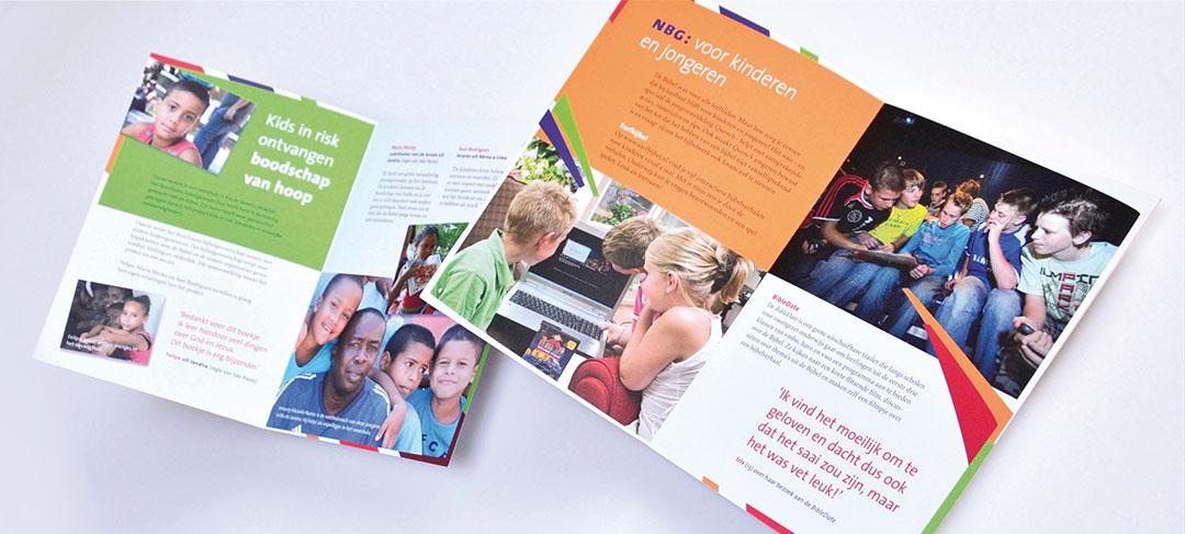 HSTotaal ontwerpt brochures en kranten voor het Bijbelgenootschap