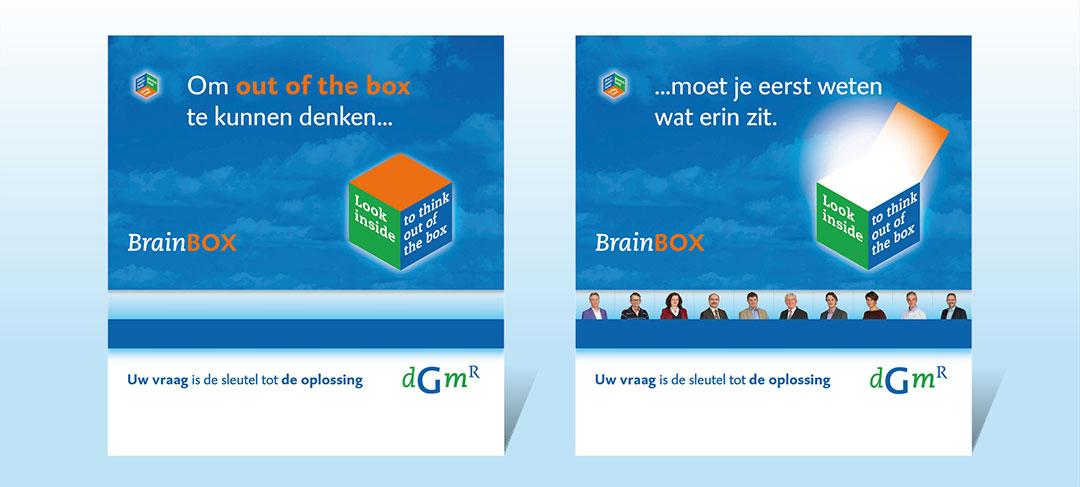 HSTotaal ontwerpt beurspresentaties voor BrainBOX