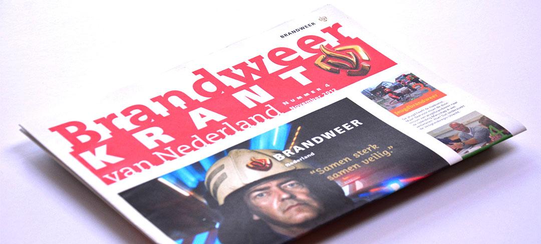 HSTotaal ontwerpt de Brandweerkrant van Nederland
