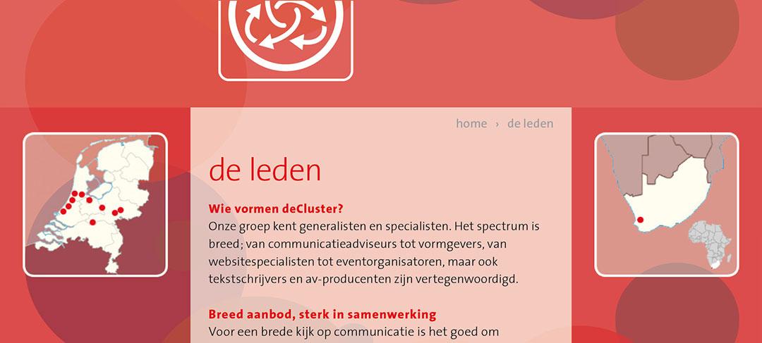 HSTotaal ontwikkelt een professionele website voor deCluster.