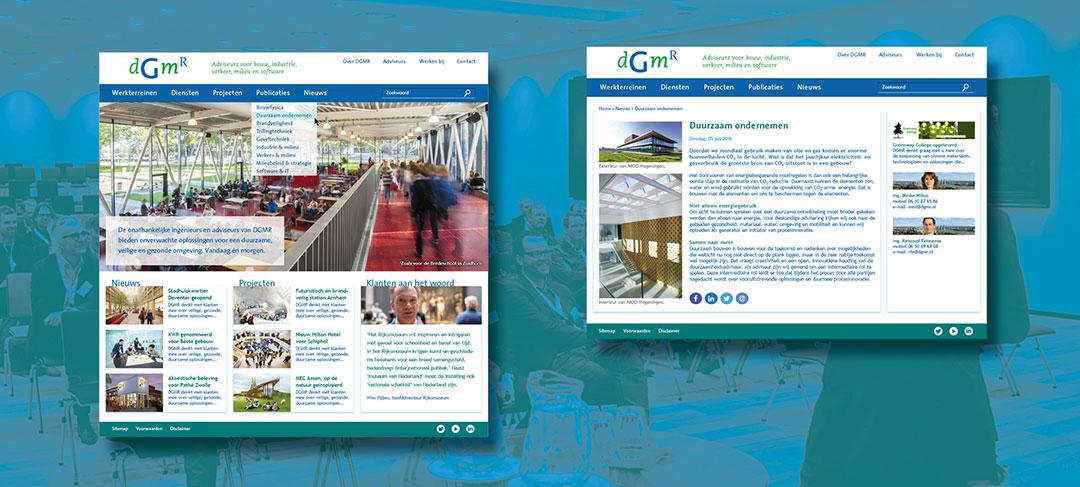 HSTotaal ontwikkelt de website voor DGMR