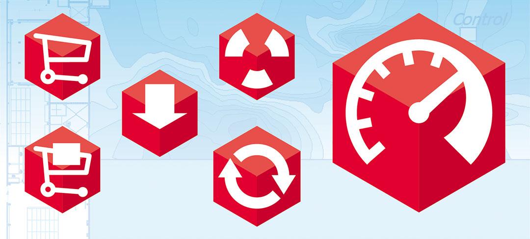 HSTotaal ontwikkelt infographics en iconen voor DGMR Software