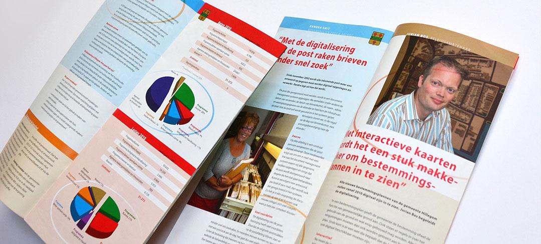 HSTotaal ontwikkelt publieksbrochures voor de gemeente Hillegom