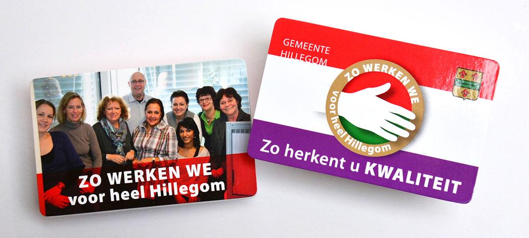 HSTotaal ontwikkelt kwaliteitscampagne voor gemeente Hillegom