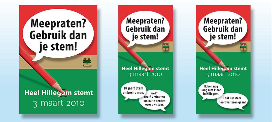 HSTotaal ontwikkelt voor Hillegom de verkiezingscommunicatie
