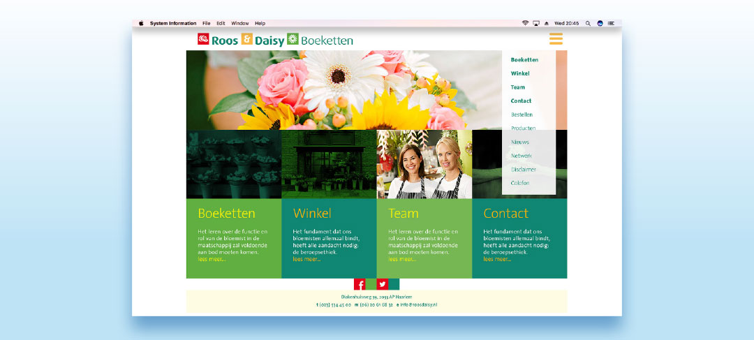 Maatwerk-website of gratis standaard templates?