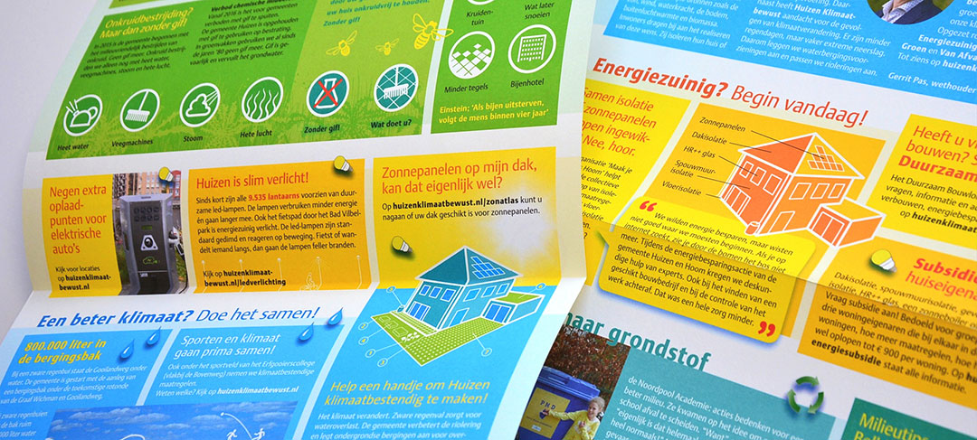 HSTotaal ontwikkelt milieukrant voor de gemeente Huizen