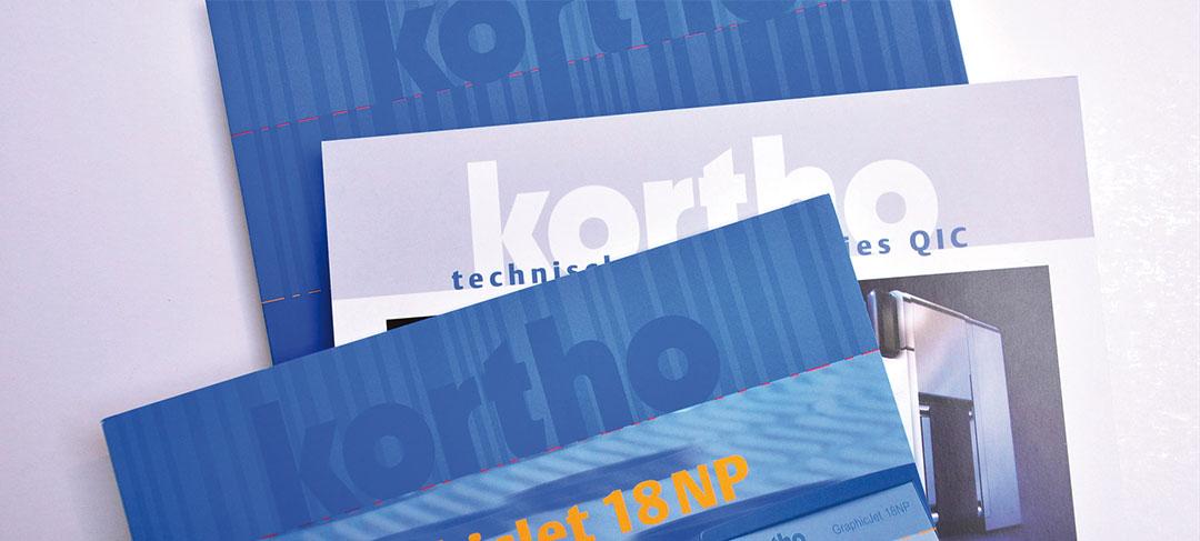 HSTotaal ontwerp de huisstijl voor Kortho Coding & Marking
