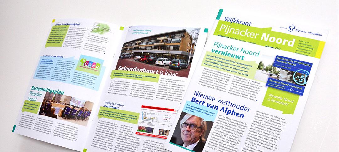 HSTotaal ontwerpt brochures voor Pijnacker-Nootdorp