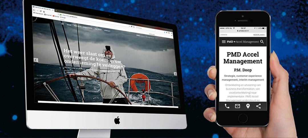 HSTotaal ontwikkelt concept, logo, huisstijl en website PMD Accel