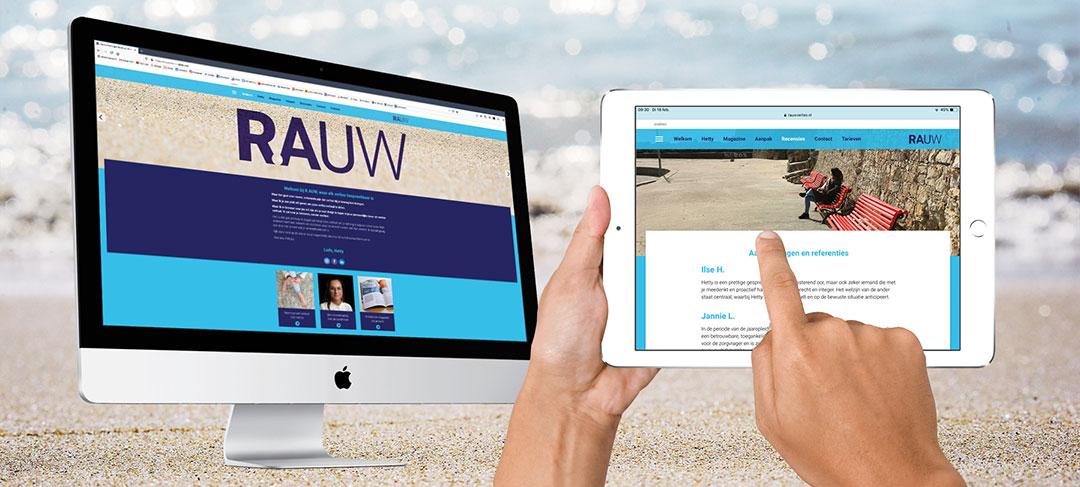 HSTotaal ontwikkelt en bouwt nieuwe website voor R.AUW-verlies