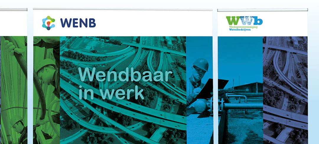 HSTotaal ontwerpt beurspresentaties en banieren voor WENB