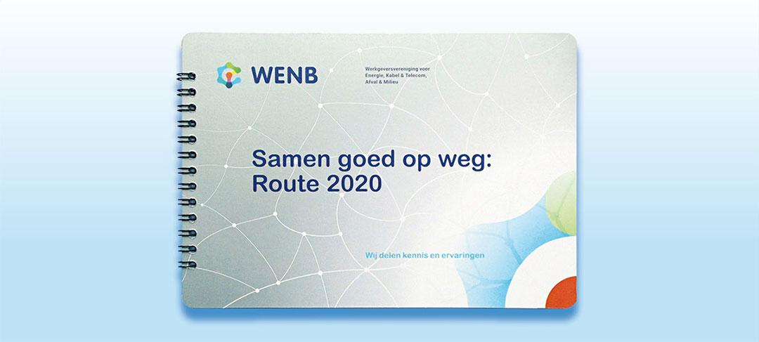 HSTotaal ontwerpt prachtige corporate brochures voor WENB