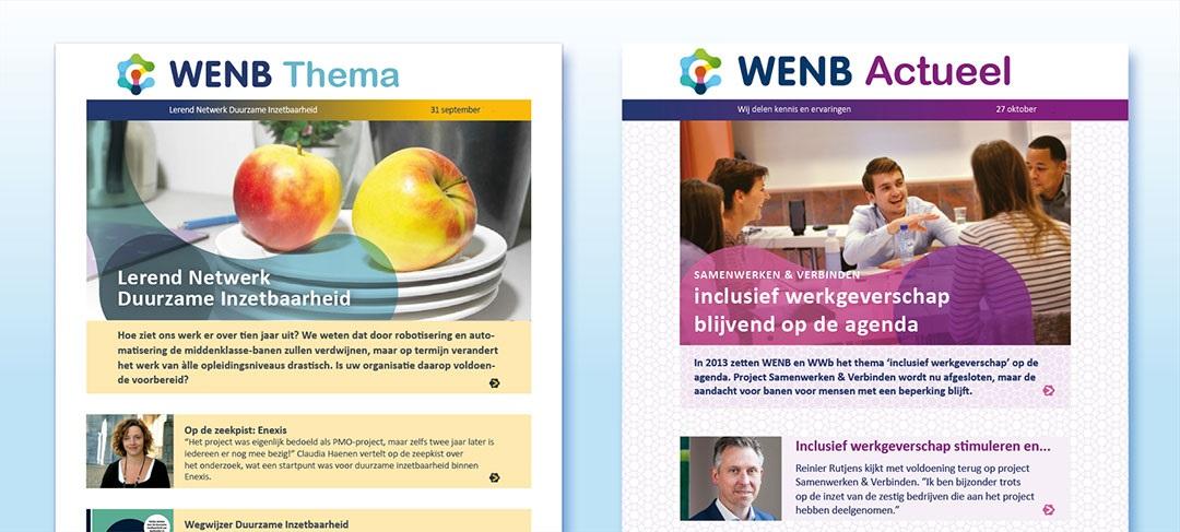 HSTotaal ontwerpt digitale nieuwsbrieven voor WENB