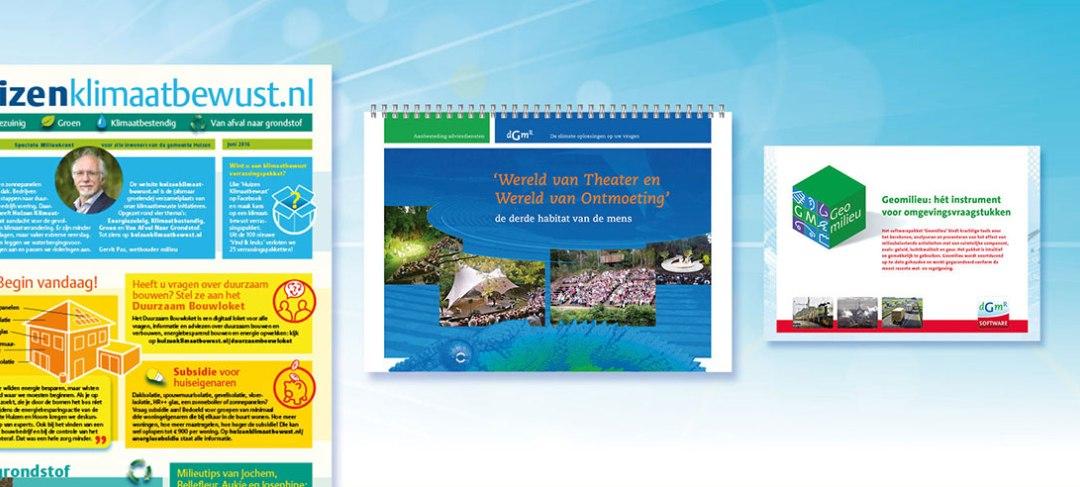 HSTotaal ontwikkelt design, beeld en tekst van jouw online brochure