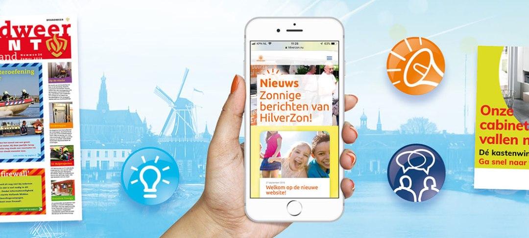Zoek je een grafisch ontwerper in Hilversum? HSTotaal!