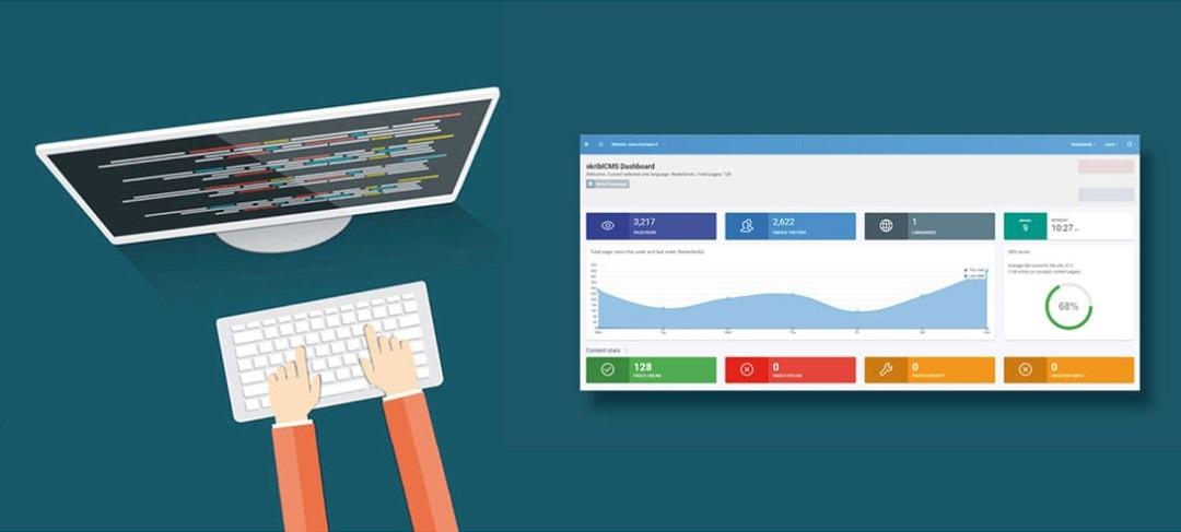 HSTotaal heeft veel ervaring met het bouwen van websites met cms